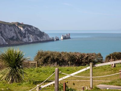 Photo for Superb Sea Views - 2 Bedroom Cottage Alum Bay Set In National Trust Land