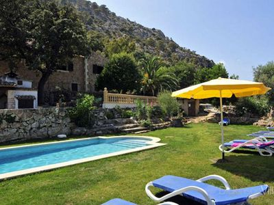 Photo for 5 bedroom Villa, sleeps 10 in Pollença with Pool, Air Con and WiFi