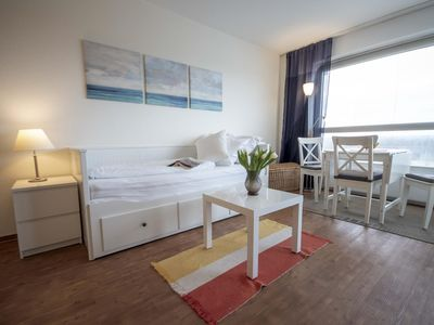 """Photo for Beachfront studio apartment FB08. 05 in the house """"Fresh breeze"""" with sea views"""