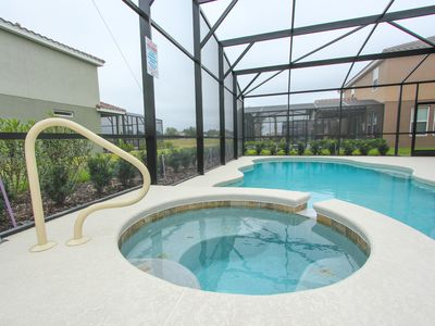 enjoy your private pool and spa!!