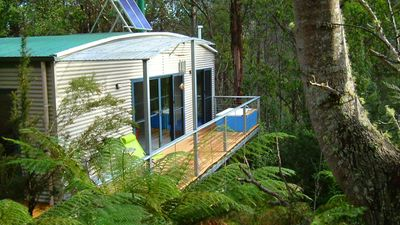 Typical couples cabin (two bedroom cabins also available)