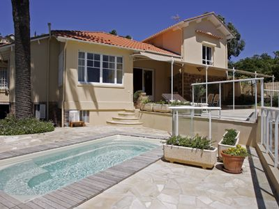 Photo for VILLA WITH PRIVATE BEACH - VILLA LOU CADE