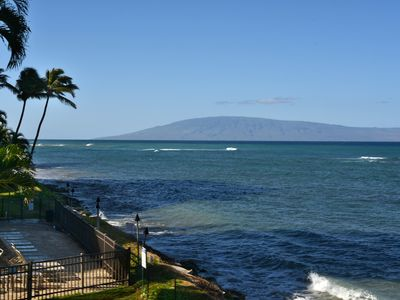Photo for HL A303* - Direct Ocean Front - Beautiful Maui Sunsets from your Room