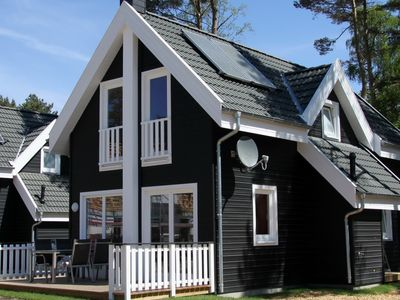 Photo for Comfortable cottage just minutes to the beach - fireplace, sauna, whirlpool