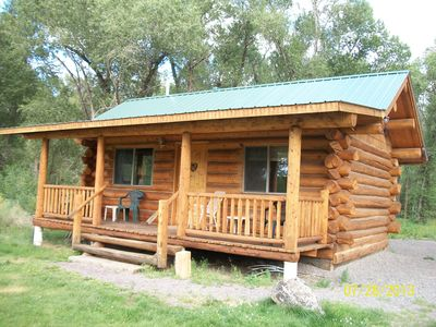 Photo for Private Cabin On The Conejos River
