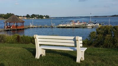 Photo for Pool and marina access on the beautiful Indian River - close to Delaware beaches