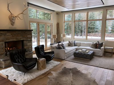 Photo for Mountain Modern Close to Town, slopes, river, bike path, and hiking trails!