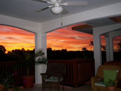 Photo for Charming Villa with Amazing Sunsets in Rincón