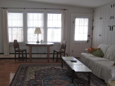 Photo for West End Cottage Street,  Steps to Town & Beach, Parking,  large unit,  Cottage