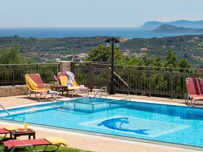 Photo for Family Villa Harmony Dreamhill w/Pool, Children Area +BBQ+Ping Pong!4km to beach