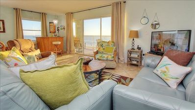 HV3-402: Lose Yourself in Heavenly Views in this Modern Beachfront Escape on...