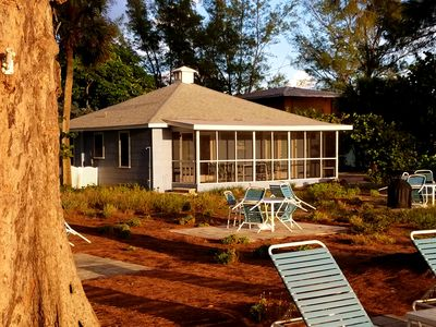 Photo for Historic Beachfront Cottage (Duplex)- screened porch- seen in Southern Living