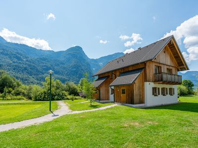 Photo for New luxury chalet located on the banks of the Hallstättersee in Obertraun.