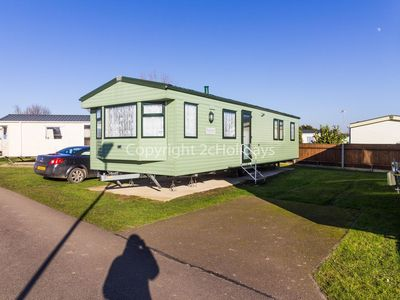 Photo for Large family caravan for hire at Cherry tree holiday park in Norfolk ref 70704