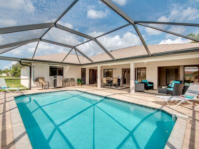 Photo for SW FL Sun Drenched Villa Featuring Outdoor Living and Southern Exposure Pool