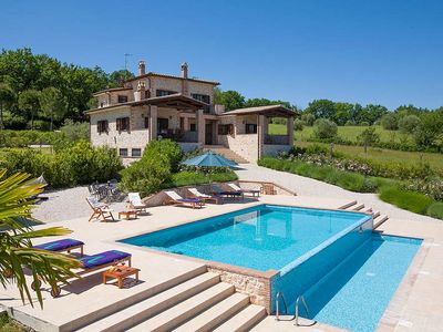 Photo for 4 bedroom Villa, sleeps 8 in Giove with Pool, Air Con and WiFi