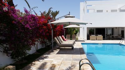 Photo for Djerba Beautiful villa with pool, 4 suites with bathroom and dressing room