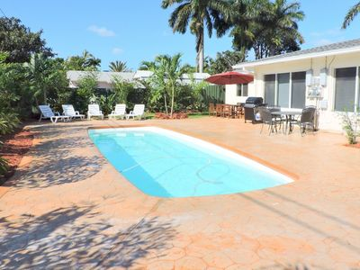 Photo for Casa Casino 3/3 for 8 Shared Pool & Yard, 5 Mins to Beaches,  ALL NEW