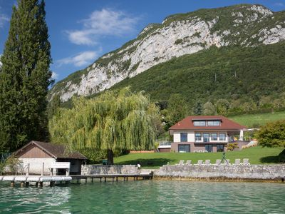 Photo for Villa to rent in Haute Savoie on the edge of Annecy Lake. Sleeps 8.