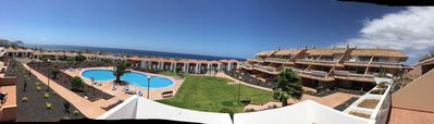 Photo for Amazing apartment in South Tenerife surrounded by 2 golf clubs & a Marina + WIFI