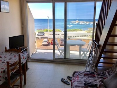 Photo for Duplex T2 apartment with breathtaking views of the ocean