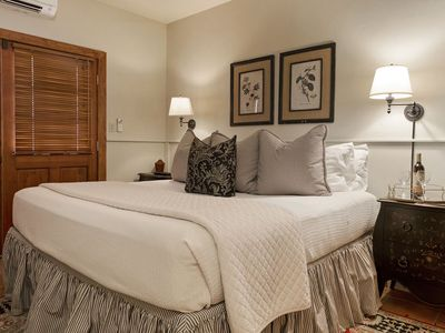 Photo for Absolutely Charming Bella Manor Carriage Suite, King Bed, Walk to Main!