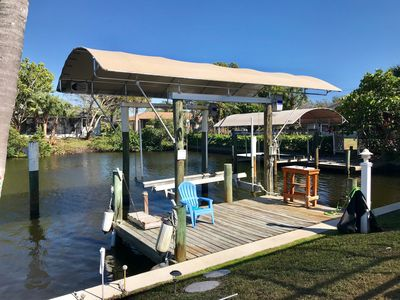 Photo for Paradise Awaits! Immaculate, Private, keenly decorated home on Saltwater Canal