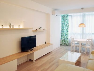 Photo for Apartment in Madrid with Lift, Parking, Internet, Washing machine (86895)