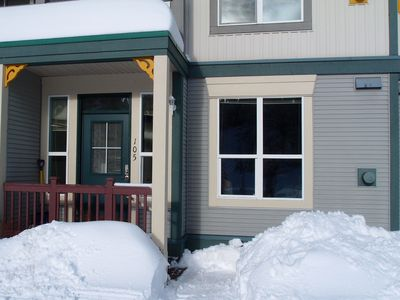 Photo for Best Ski-in Ski-out Location w/ Private Entrance. Pet Friendly!