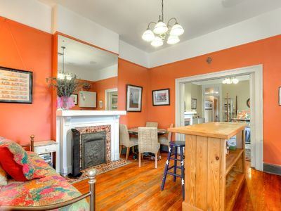 Photo for 5 FAT COLUMNS & A FISHPOND; Fabulous owners w/1BR sleeps 4 Condo in great area