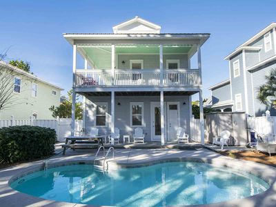 Photo for Gorgeous Seagrove Beach Home with Private Pool! Two Blocks from the Beach! Close to Shopping and Restaurants