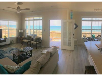 Photo for OCEANFRONT, Chic Décor, Prv Bch Access, Wifi ON Beach!