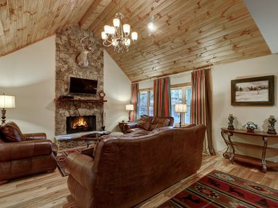 Photo for Very close to downtown Cashiers and just minutes away from Lake Glenville, Wi-Fi