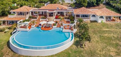 Photo for $100 USD Pre-Stocking Grocery Credit -  Ocean View - Located in  Exquisite Terres Basses with Private Pool