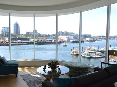 Photo for Waterfront Condo in downtown Victoria