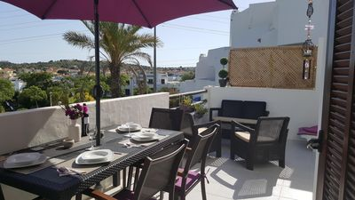 Photo for Clube Albufeira  luxury 2 BR 2 Bath ,Large terrace over looking pool & gardens