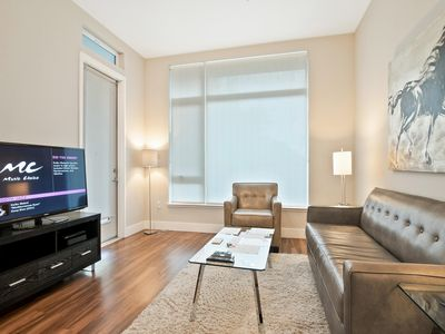 Photo for Modern 2BR | Ideal for Business | Free WiFi | Downtown Mopuntain View