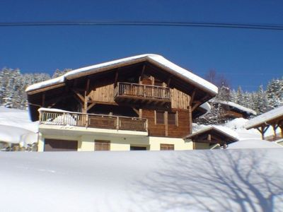 Photo for LES GETS SPACIOUS CHALET, MONTAGNARD STYLE