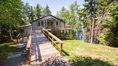 Photo for Secluded Home Offers Water Access, Stunning Water Views, Privacy and Tranquility