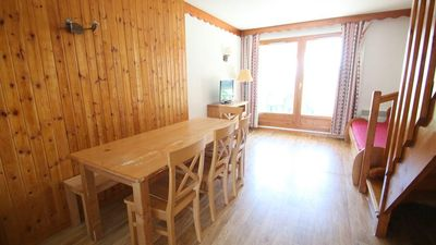 Photo for Wifi, terrace, balcony, parking, tv, 42m², Puy-Saint-Vincent
