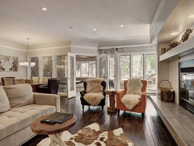 Photo for Recently Renovated Platinum Ski in Ski out Condo - Private Hot Tub!