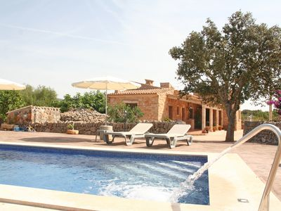 Photo for Son Coves with large pool, satellite TV, BBQ area