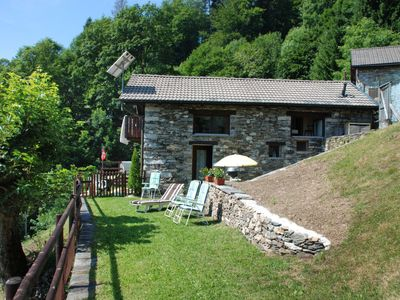 Photo for Vacation home Al Tecion del Nino  in Ronco sopra Ascona, Ticino - 3 persons, 2 bedrooms