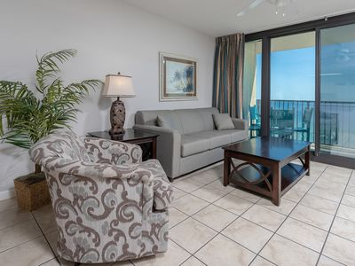 Photo for BEACH FRONT ~ Hotel in Gulf Shores ~ Full Kitchen ~ Master Suite