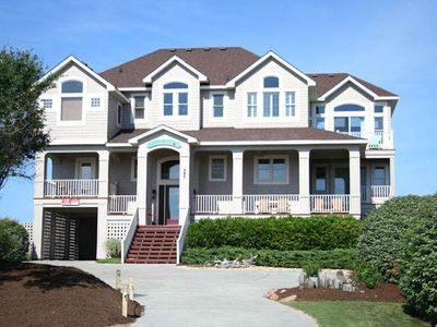Photo for #PI127: Reduced Rates! OCEANFRONT Corolla w/PRVTPool, HotTub & RecRm w/PoolTbl