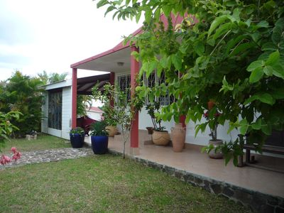 Photo for Maisonette Créole with terrace - ideal location for visiting the whole island