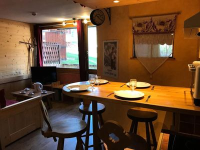 Photo for 1BR Apartment Vacation Rental in MACOT LA PLAGNE