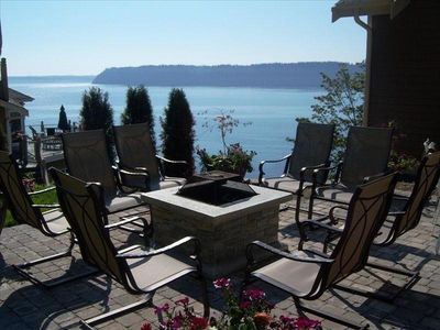 Photo for Whale Watch, Large Puget Sound Waterfront Home, Groups Welcome
