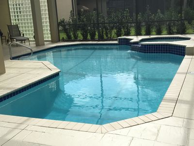 Pool, Spa, Screened Lanai