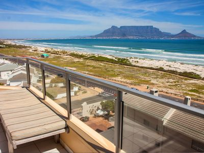 Photo for Nautica Apartment, Stunning Views Of Table Mountain 50M Away From Blouberg Beach